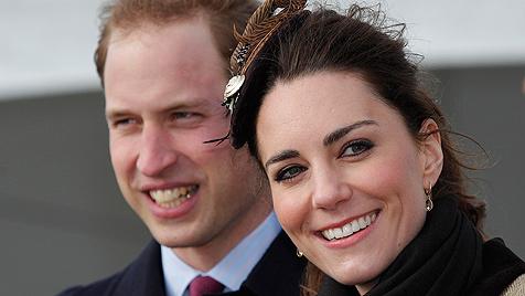 Uni von William und Kate lädt zu Hochzeitsfrühstück