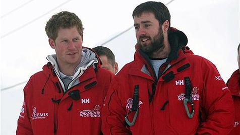 Prinz Harry nach Arktis-Abenteuer wieder daheim