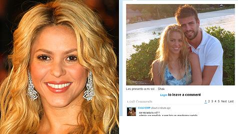 Shakira twittert süßes Liebesfoto mit Gerard Piqué