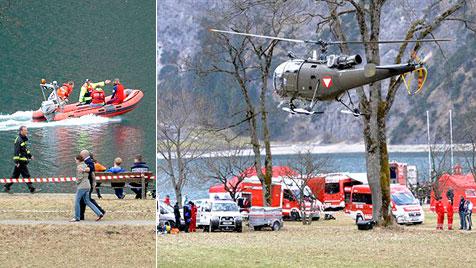 Nach Heli-Absturz am Achensee: Kein Defekt gefunden (Bild: AP)