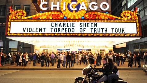 Doch noch stehende Ovationen für Sheen in Chicago