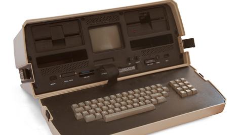 Laptop feiert 30. Geburtstag - Erstes Modell wog 11 Kilo (Bild: Wikimedia Commons)