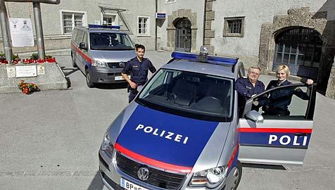 Rathaus-Wachstube in Salzburg zieht während Umbau um (Bild: Markus Tschepp)