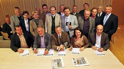 Flachgauer ÖVP-Ortschefs fordern Atomkraft-Ausstieg (Bild: Markus Tschepp)