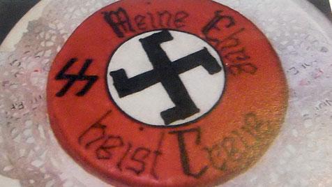 Torten im Nazi-Design: Verfahren eingestellt (Bild: APA/MAUTHAUSEN KOMITEE ÖSTERREICH)