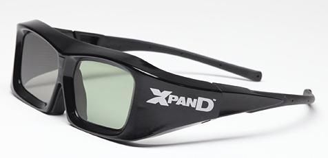 XpanD bringt 3D-Universalbrille für alle Fernseher (Bild: Xpand)