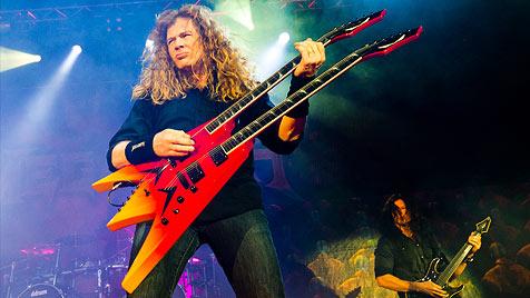Apokalypse für die Ohrwaschel bei Slayer & Megadeth (Bild: Andreas Graf)