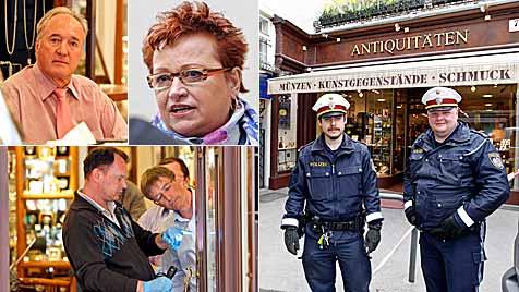 Waffe nach Überfall auf Antiquitäten-Laden verschollen (Bild: Markus Tschepp)