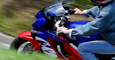 Zuckerschock während Fahrt mit Motorrad - tot! (Bild: Peter Tomschi)