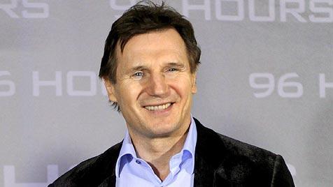 Liam Neeson zwei Jahre nach Tod der Frau wieder verlobt (Bild: EPA)