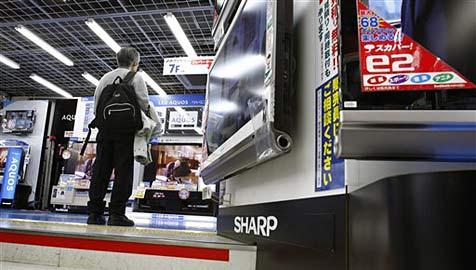 Sharp stoppt LCD-Produktion in japanischen Werken (Bild: AP)