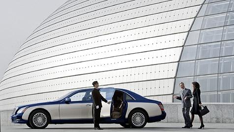Die zehn längsten Limousinen Europas (Bild: Daimler AG)