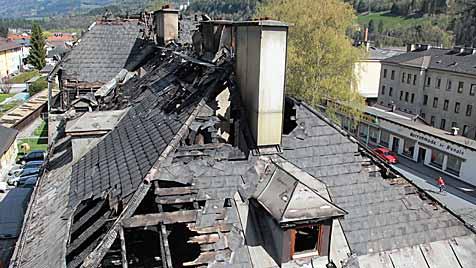Herdplatte löste Großbrand in Bischofshofen aus (Bild: Andreas Kreuzhuber)