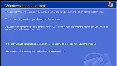 Trojaner fordert Lösegeld für Windows-Lizenz Trojaner_fordert_Loesegeld_fuer_Windows-Lizenz-Sperrt_den_PC-Story-256694_476x268px_1_peg0FzKS94IS_