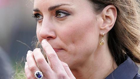Überschlanke Kate Middleton macht Briten Sorgen