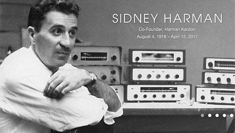 Hifi-Pionier Sidney Harman 92-jährig verstorben (Bild: Screenshot Harman Kardon)