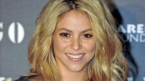 """Pique: Mit Shakira trotz Rummels """"sehr glücklich"""" (Bild: EPA)"""