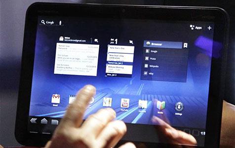 A1 bringt Motorolas Xoom-Tablet ab Mai nach Österreich (Bild: AP)