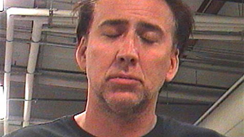 Nicolas Cage: Lautstarke Randale vor Festnahme (Bild: AP/Orleans Parish Sheriff's Office)
