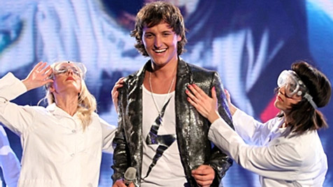 """Zuschauer wählen Marco Angelini ins """"DSDS""""-Viertelfinale (Bild: RTL/Stefan Gregorowius)"""