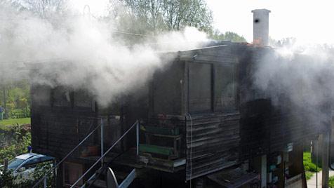 Gehbehinderter Mann stirbt bei Brand in Kritzendorf (Bild: NÖ Landesfeuerwehrkommando)