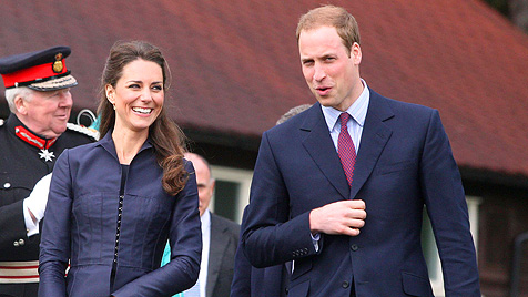 Prinz William probt permanent für seinen großen Tag (Bild: AP)