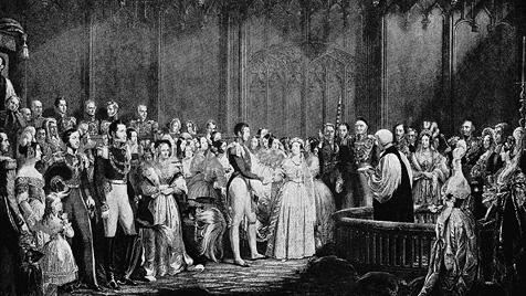Royale Brautkleider schreiben seit jeher Modegeschichte