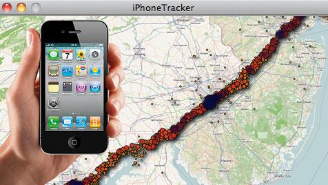 iPhone und iPad speichern alle User-Bewegungen (Bild: Apple, radar.oreilly.com, krone.at-Grafik)