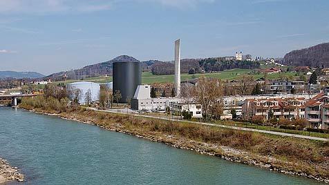 Mega-Boiler sichert künftig Fernwärme-Versorgung (Bild: Salzburg AG)