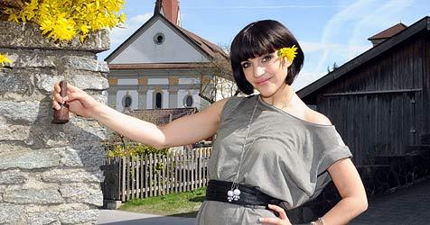 Erst Song Contest, dann Grammy - Nadine hat viel vor (Bild: Andreas Fischer)