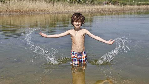 Traumwetter gab Startschuss für Badesaison (Bild: Markus Tschepp)