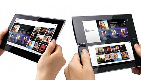 """Sony verkündet neue Details zu Tablets """"S"""" und """"P"""" (Bild: Sony)"""