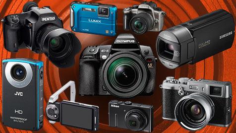 Die besten Kameras für jeden Geschmack (Bild: Hersteller, krone.at-Grafik)