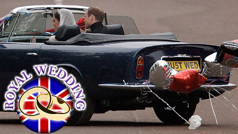 Das war der große Tag von Prinz William und Kate (Bild: AP)