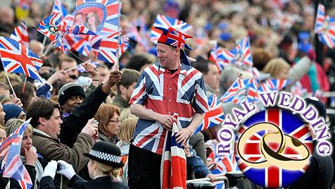Das war der große Tag von Prinz William und Kate (Bild: EPA)