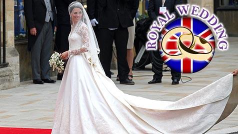 Die Details zu Kates traumhaft schönem Hochzeitskleid
