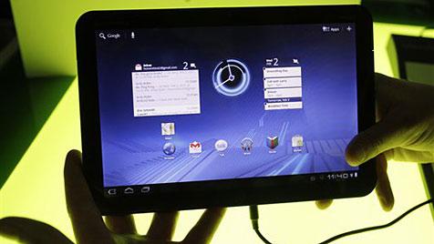 Motorola bekommt bei Tablet-PCs Fuß in die Tür (Bild: AP)