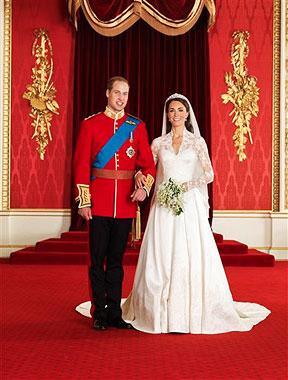 Die offiziellen Hochzeitsfotos von William und Kate (Bild: AP/Hugo Bernand/Clarence House)