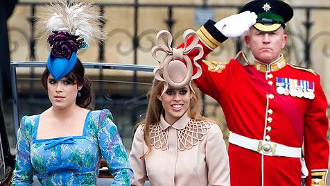 Verrückter Hut von Prinzessin Beatrice wird versteigert (Bild: AP, AFP, EPA)