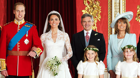 Brauteltern zahlten für die Hochzeit fast 300.000 Euro (Bild: EPA/Hugo Bernand/Clarence House)