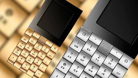 """Kann fast nichts: """"Anti-Smartphone"""" kostet 42.000 Euro (Bild: Aesir-Copenhagen.com, krone.at-Grafik)"""