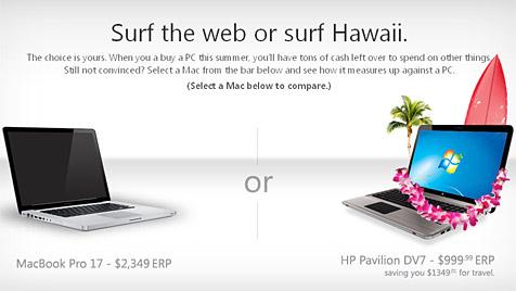 Microsoft rechnet vor: So viel billiger sind Windows-PCs (Bild: Screenshot Microsoft)