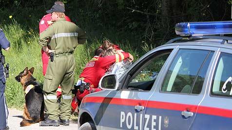 Vermisste Frau (46) in Waldstück gefunden (Bild: ÖRHB)