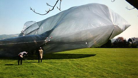 Entwischter Ballon ist am Weg nach Griechenland (Bild: Markus Schütz)