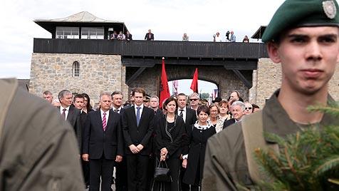 Gedenk- und Befreiungsfeier in Mauthausen (Bild: APA/RUBRA)