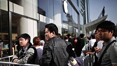 In Peking verletzt: Apple zahlt Kunden Entschädigung (Bild: AP)