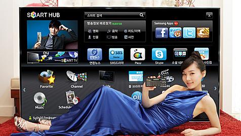 Samsung stellt größten 3D-LED-Fernseher vor (Bild: Samsung)