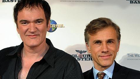 Christoph Waltz soll wieder mit Quentin Tarantino drehen (Bild: EPA)