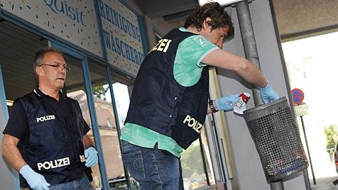 Polizei tappt weiter im Dunkeln und lobt Belohnung aus (Bild: APA/BARBARA GINDL)