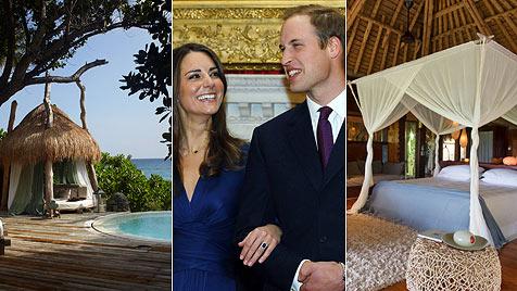 """Hier basteln William und  Kate angeblich ihr """"Royal Baby"""" (Bild: AP)"""